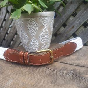 Dockers Brass buckle belt